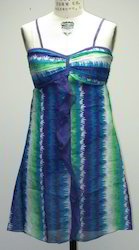 Chiffon Tie Die Dress