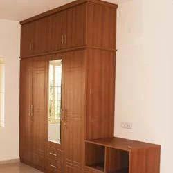 Bedroom Furniture Wardrobe With Loft Box Manufacturer