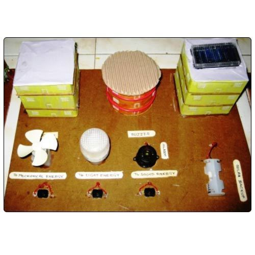 Solar Energy Models For Science Projects 4 In 1 Solar