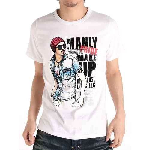 Men 39 s printed t shirts view specifications details of for Get photo printed on t shirt