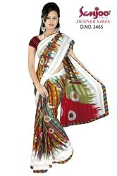 Weightless Printed Sarees