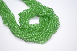 Light green Mystic Quartz Beads