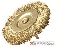 Non Sparking Brush Wheel