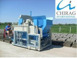 special type egg laying concrete block machine