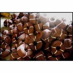 brown color semi virgin rope