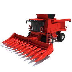 Tractor Corn Harvester
