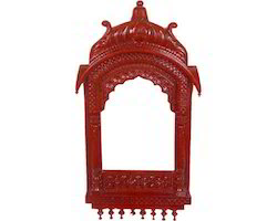 Elegant Wooden Jharokha