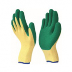 P.U Rubber Coated Glove
