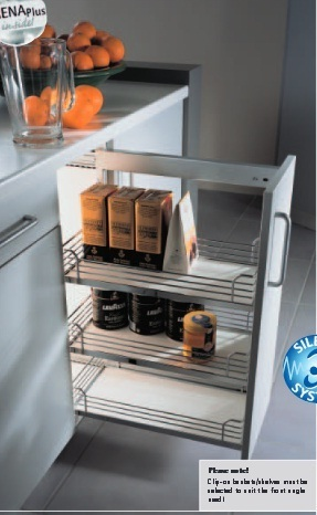 Modular Kitchen Accessories Pull Out Frame Wholesale
