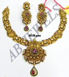 Antique Gold Necklace Sets
