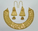 22 kt gold bridal necklace