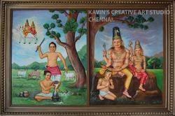 Senganur Satyagireeswar Mural
