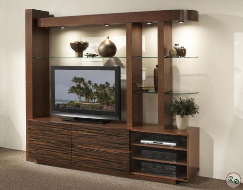 Lcd Wall Units And Cabinets - Wooden Lcd Wall Cabinet Manufacturer