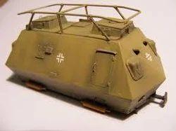 armoured vehicles