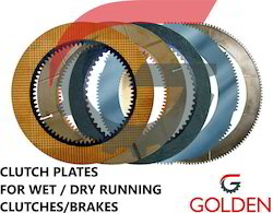 Clutch Plates For Hydraulic Multi Disc Brakes