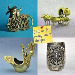 Dhokra - Bell Metal - Decorative Animals Theme Arifacts