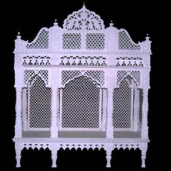 White Marble Mandir for Home