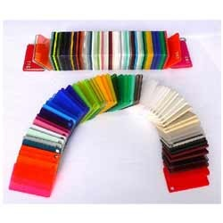 color acrylic sheets