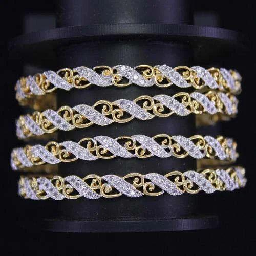 american diamond jewelry american diamond stone bangles