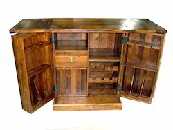 Wooden Bar Counter