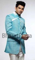 emperor look jute suit