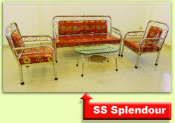 Stainless Steel Sofa Set 3 1 1 ( SS Splendour )