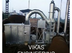 Liquid And Solid Combined Incinerator System