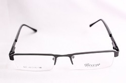 Black Metal Optical Frame