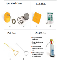 Shower & Eye Wash Accessories