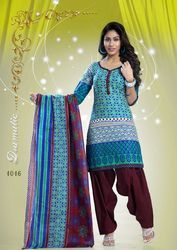 Bandhani Cotton Dress Material