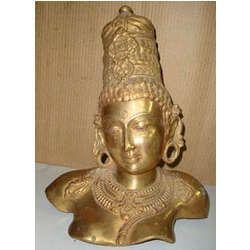 Parvati Bust Statue