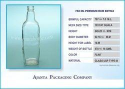 Premium Rum Bottle