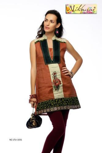 Trendy Stylish Embroidered Kurti