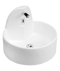 Washbasin With Inbuilt Sensor Tap