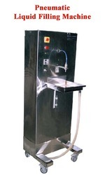 pneumatic volumetric liquid filling machines