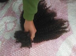 Virgin Remy Mongolian Hair Weft