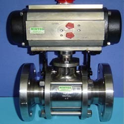 Pneumatically Operated Ball Valve
