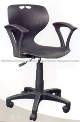 Black Revolving Chair