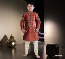 Fully Embroidered Kids Sherwani