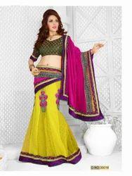 Artistic Bollywood Designer Saree