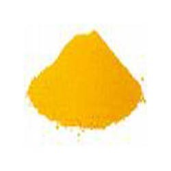 Yellow Chemical Powder