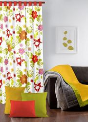 Flower Printed Curtain