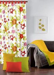 Flower Printed Curtain