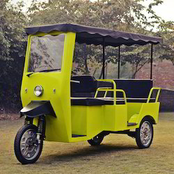 Beautiful Indian E-Rickshaw