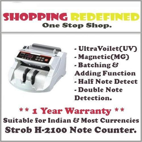 Strob H-2100 Loose Note/Cash/ Currency Counter /Money Counti