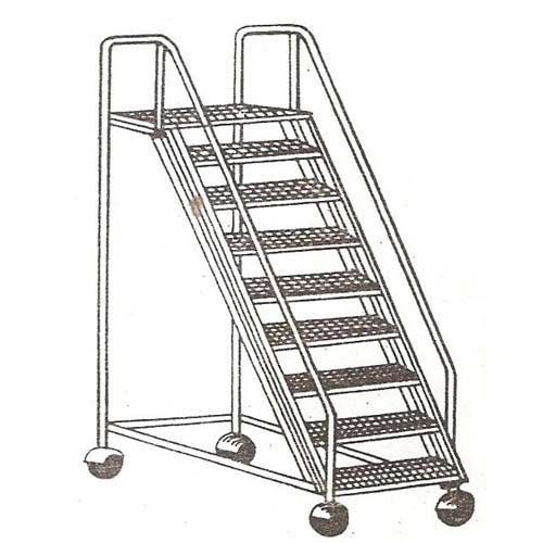 Step Ladders With Wheels