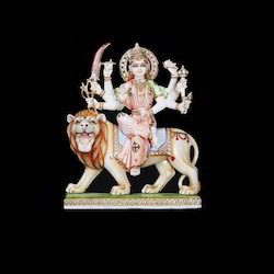 Marble Lord Durga Statues