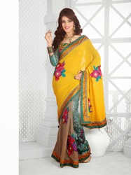 Fancy Indian Bollywood Designer Sarees