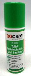 docare toilet disinfectant and seat sanitizer