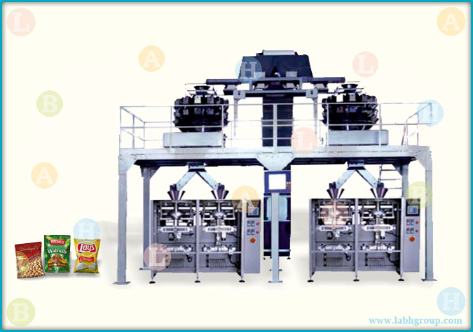 Automatic Bag Packaging Equipment with Weigh Filler for Nuts